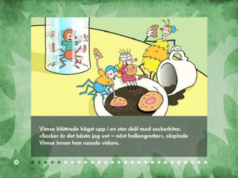 Imsy & Wimsy (Imse & Vimse) is now available, in Swedish, as an interactive e-book with animated illustrations on Itunes!