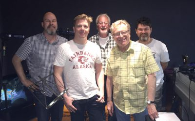 Voice recording in London with Louis Elman for the Bamse sequel