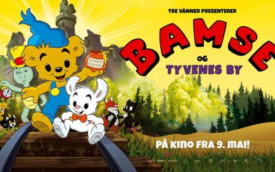 'Bamse og Tyvenes by' opens in Norway this Friday – the 9th of May!