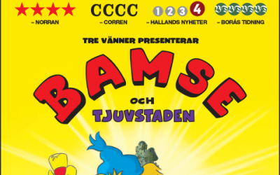 'Bamse and the City of Thieves' opened this weekend…